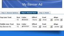 PHP Banner Creator